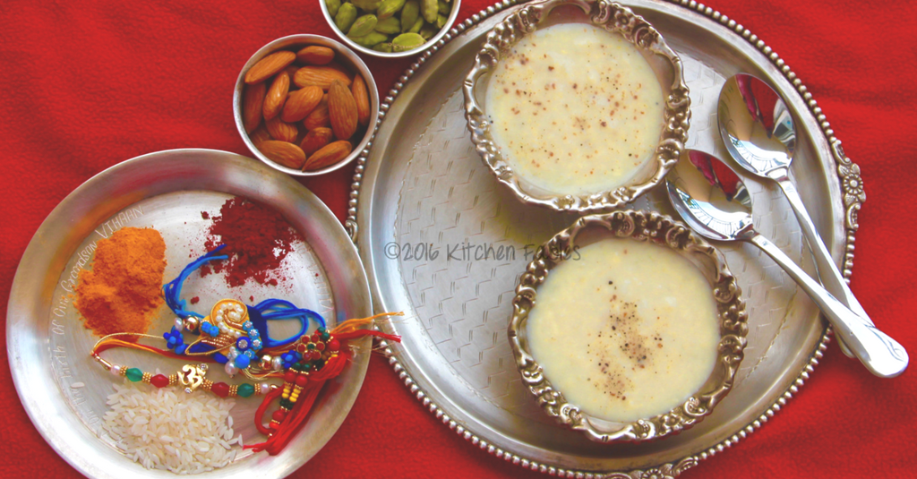 Tender Coconut Payasam / Dessert made with 4 ingredients