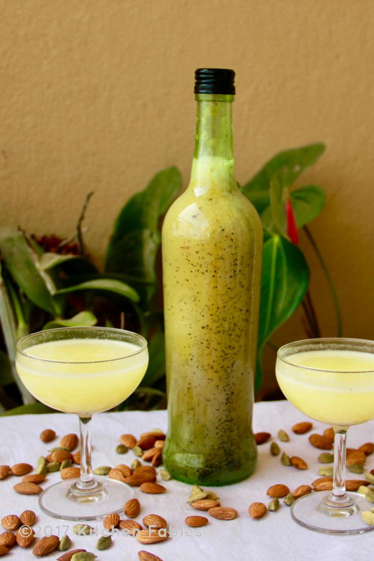 Badaam ka Sharbat ( Almond Syrup )