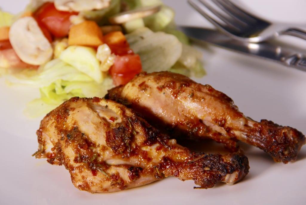 Barbeque Chicken in Orange Sauce