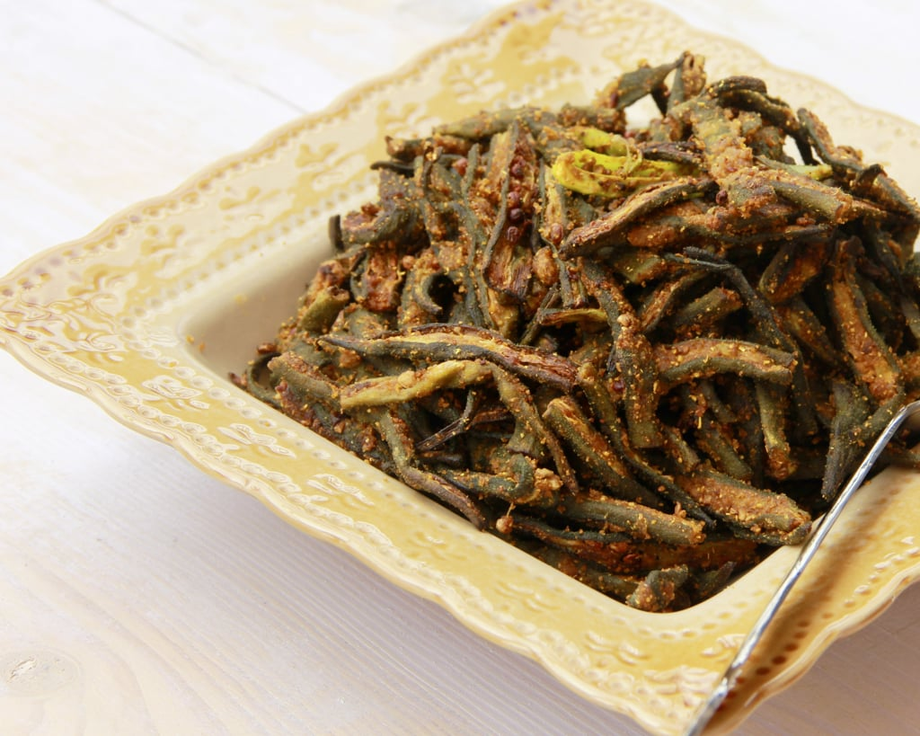 Chatpati Bhindi – Okra made in Air Fryer