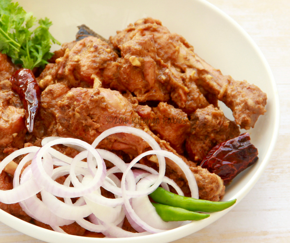 Sukha Chicken – Dry Chicken with Indian Spices
