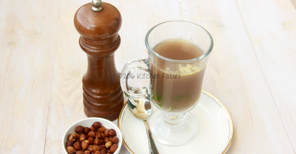 Home Remedy for Cold – Brown Chicpeas or Kala Chana Soup