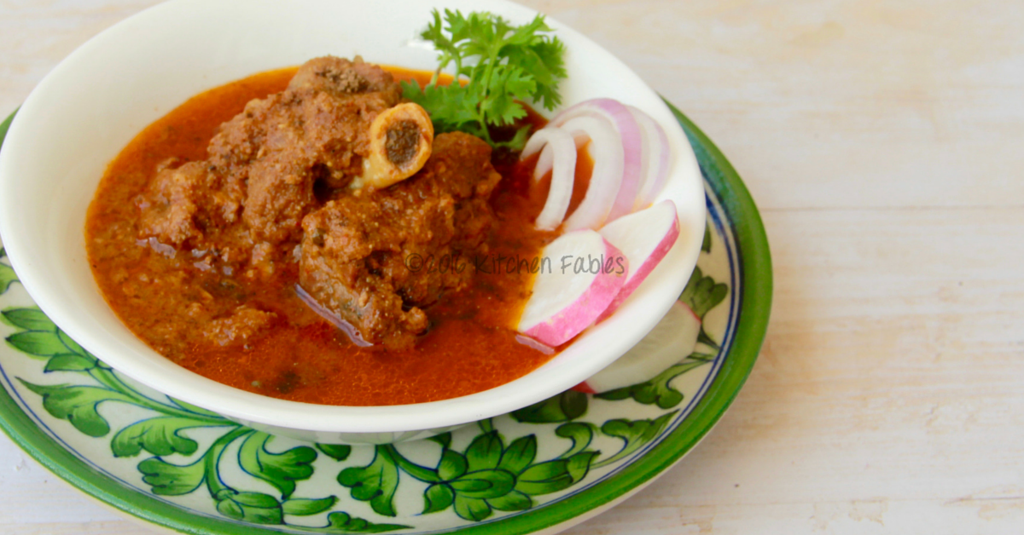 Mutton Curry or Tariwala Meat