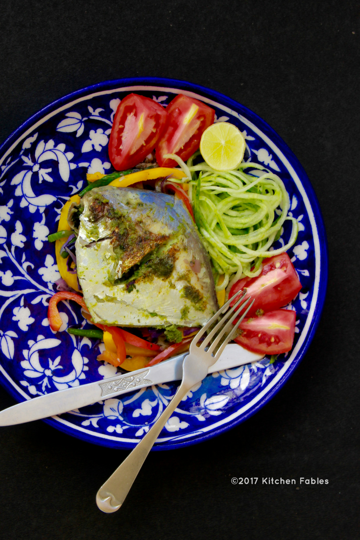 Pan Fried Pomfret – Healthy Meal Option