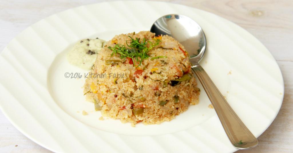 Healthy Breakfast – Vegetable Dalia