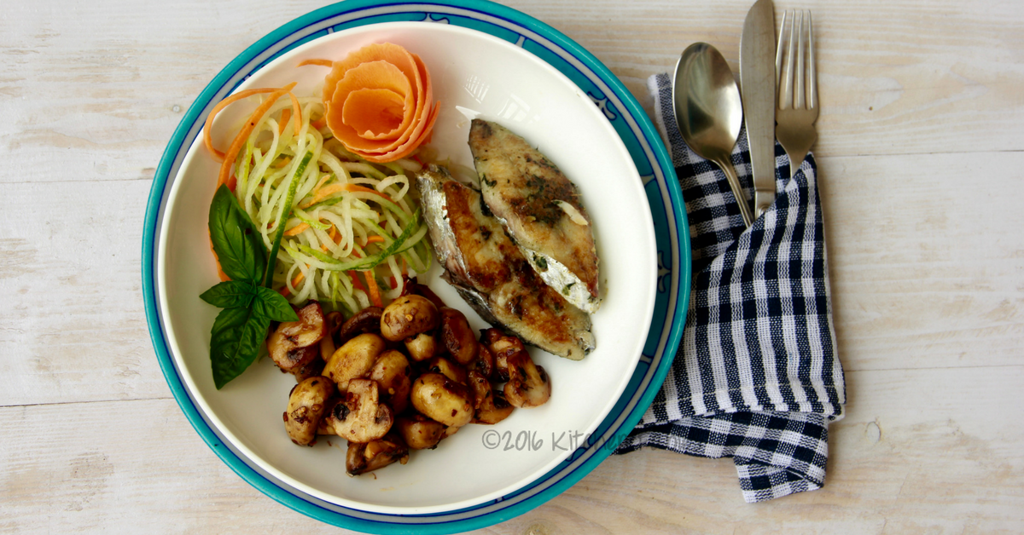 Healthy Fish Recipe – Herbed Seer Fish
