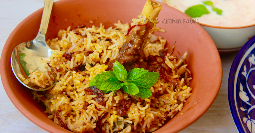 Home Made Mutton Biryani