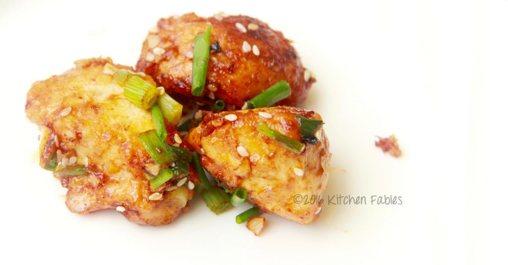 Honey & Sesame Stir Fried Chicken