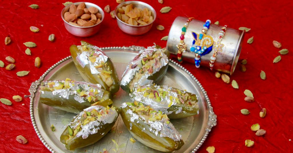Parwal Ki Mithai / Pointed Gourd Dessert
