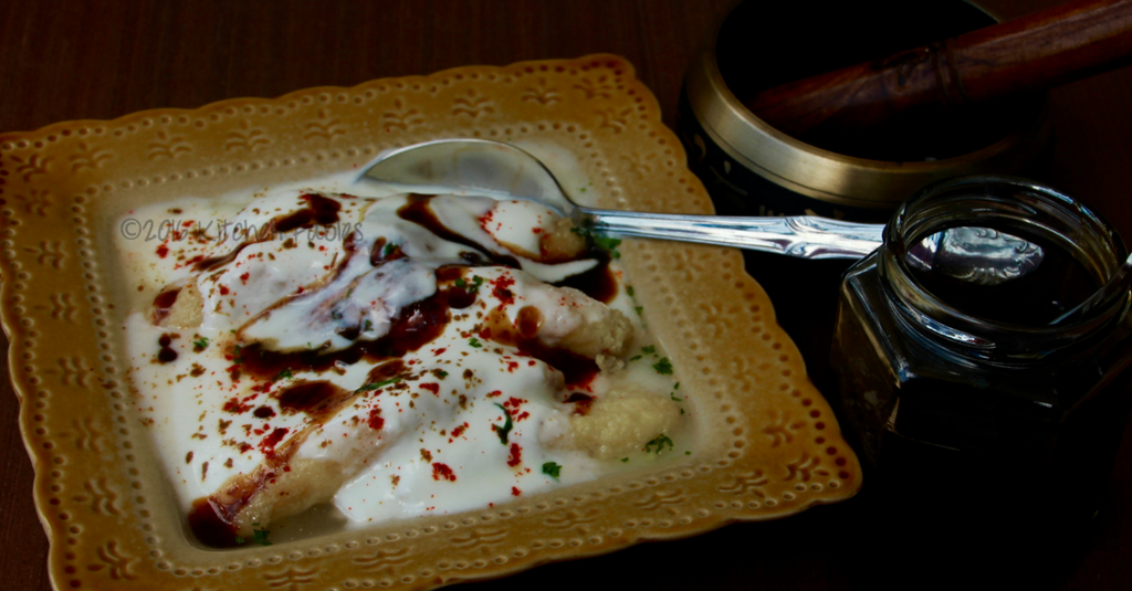 Stuffed Dahi Bhalle