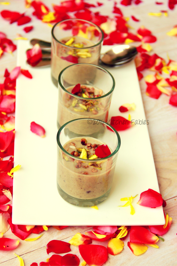 Sugar Free Date & Fig  Vegan Kheer / Payasam- Vegan Pudding / Dessert