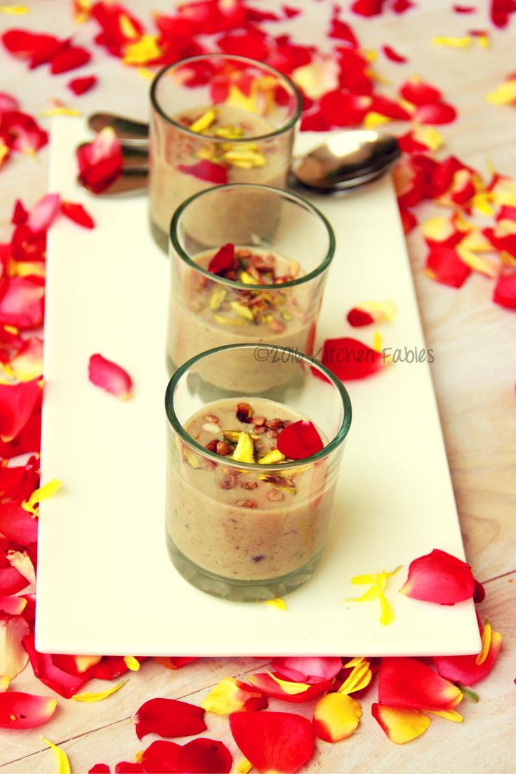 Sugar Free Date & Fig  Vegan Kheer / Payasam- Vegan Pudding / Dessert