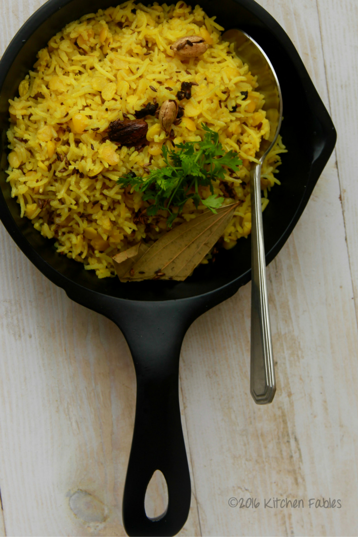 Arhar Dal Pulao – Nutritious One Pot Meal