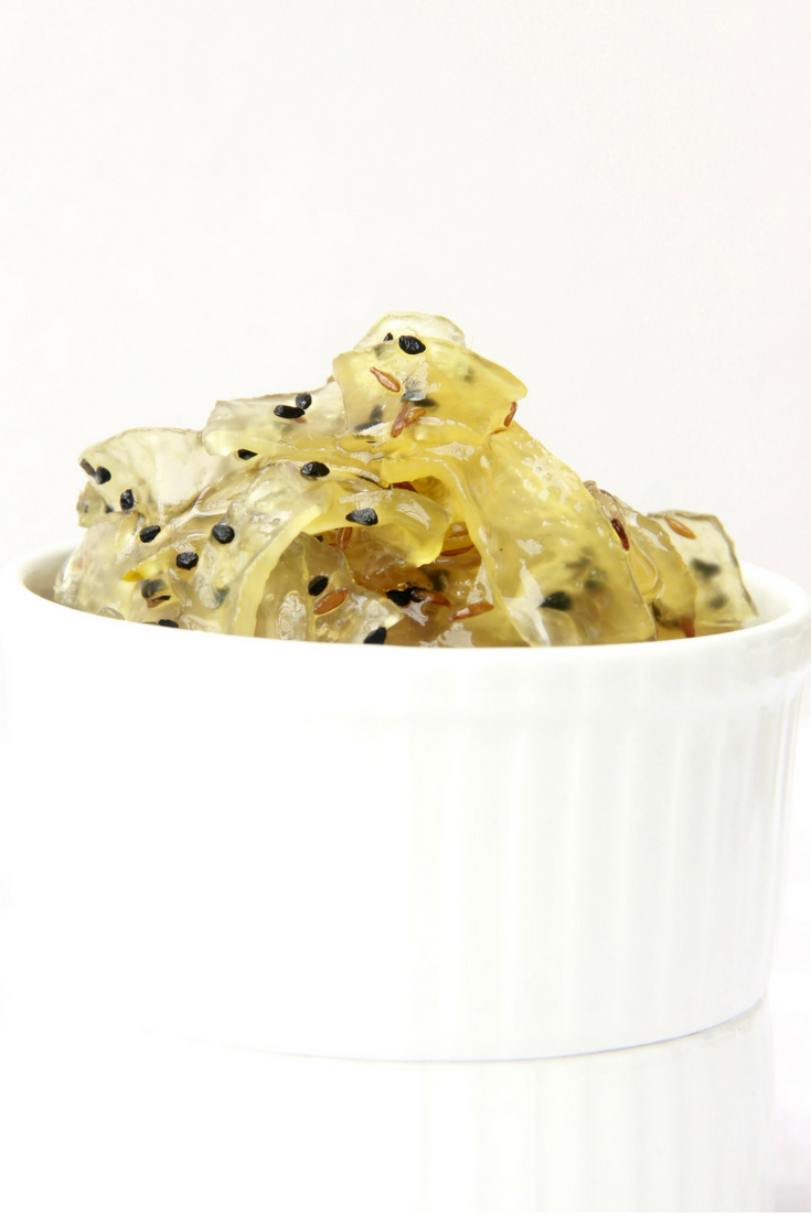 Raw Papaya Relish