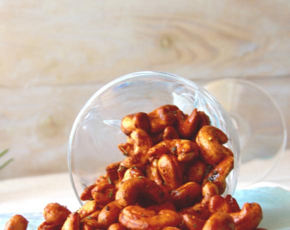 Rosemary & Honey Roasted Cashews