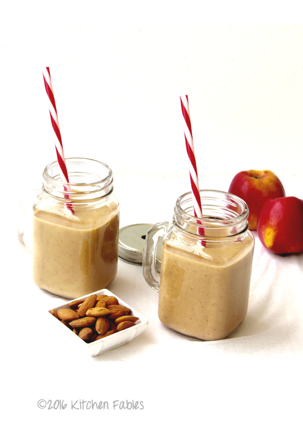 Healthy Oats & Apple Smoothie