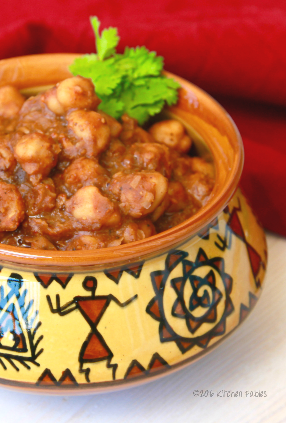 Punjabi Chole Without Onion & Garlic