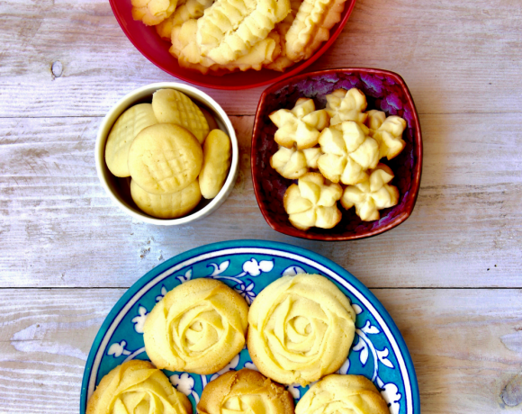 Egg Less Butter Cookies That Melt in Your Mouth