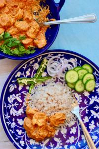 Quick & Easy Malai Prawn Curry