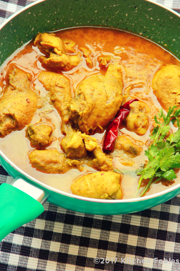 Mother's Day Special – Easy & Light Chicken Curry