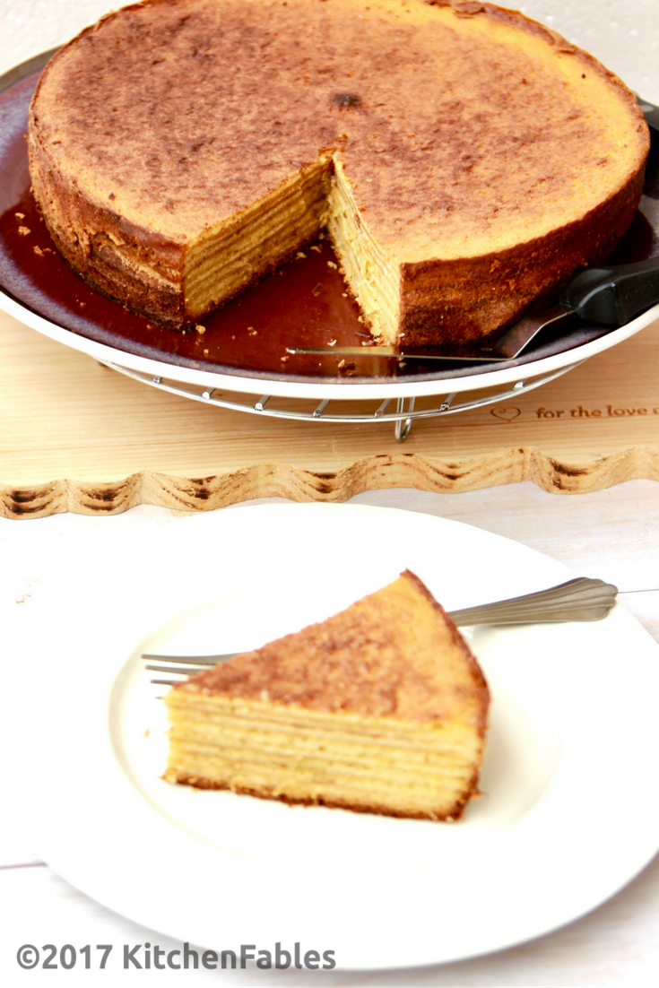 Exotic Rich Cake or Indonesian Layered Cake
