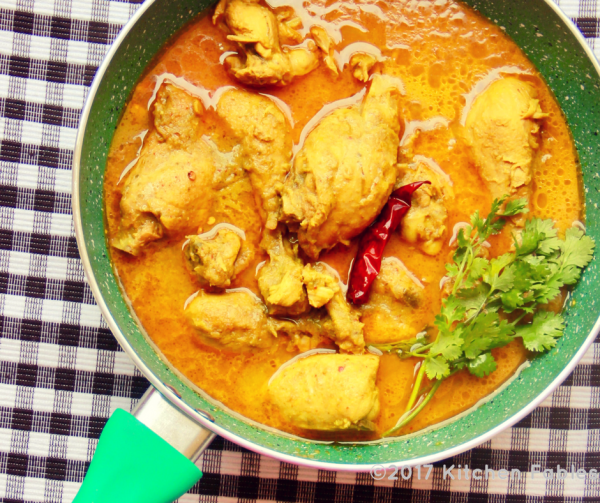 Easy & Light Chicken Curry